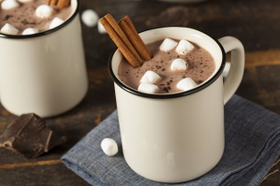 Hot Chocolate made with Real Cacao