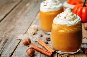 Pumpkin Spice Latte made with Real Pumpkin