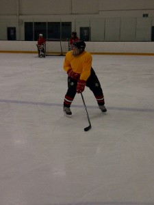 Mama Z playing Ice Hockey at age 65!