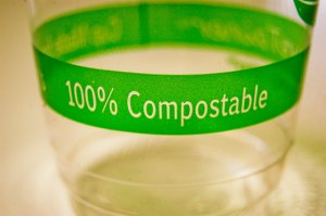 We only use Compostable cups, straws and lids for our drinks