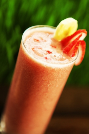 Summer Dream Smoothie -Banana and Strawberry